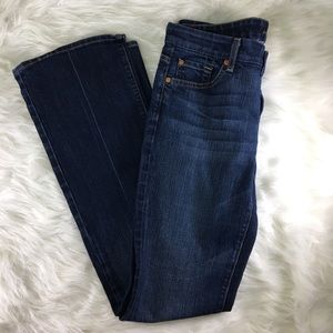 7 for all mankind kimmie bootcut lowrise